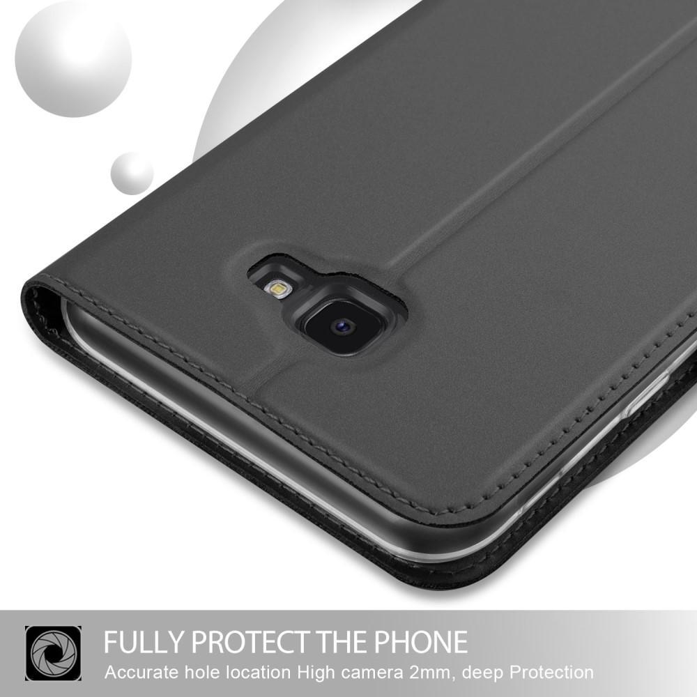 Slim Card Wallet Samsung Galaxy J4 Plus 2018 grå