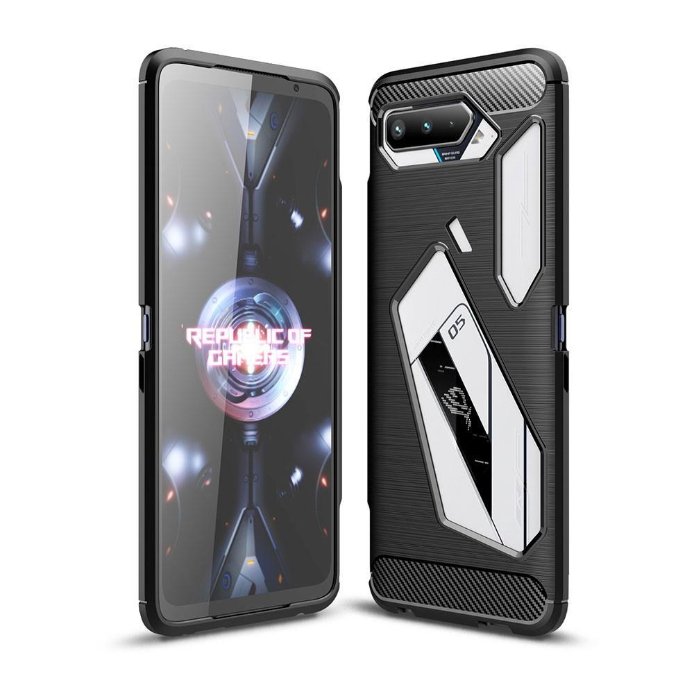 Brushed TPU Case Asus ROG Phone 5 Black