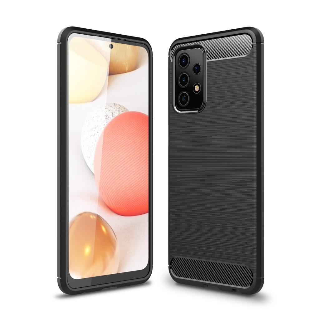 Brushed TPU Case Galaxy A52 5G Black