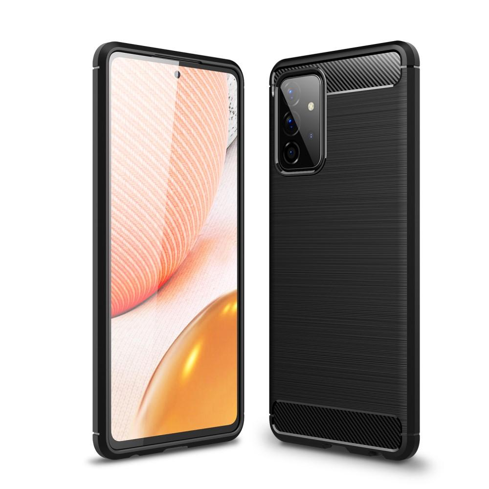 Brushed TPU Case Galaxy A72 5G Black