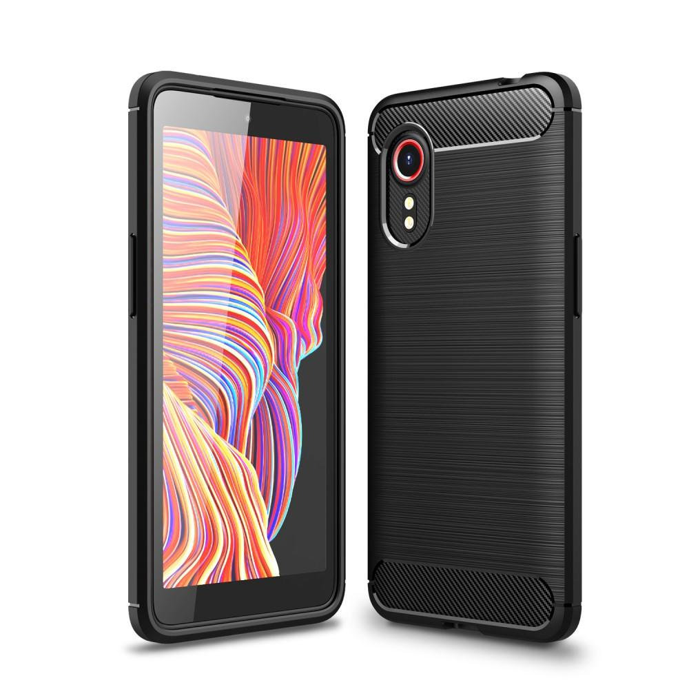 Brushed TPU Case Galaxy Xcover 5 Black