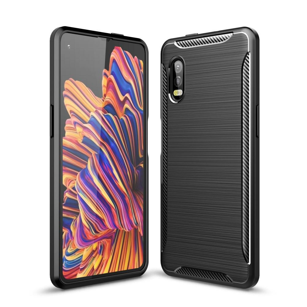 Brushed TPU Case Galaxy Xcover Pro Black