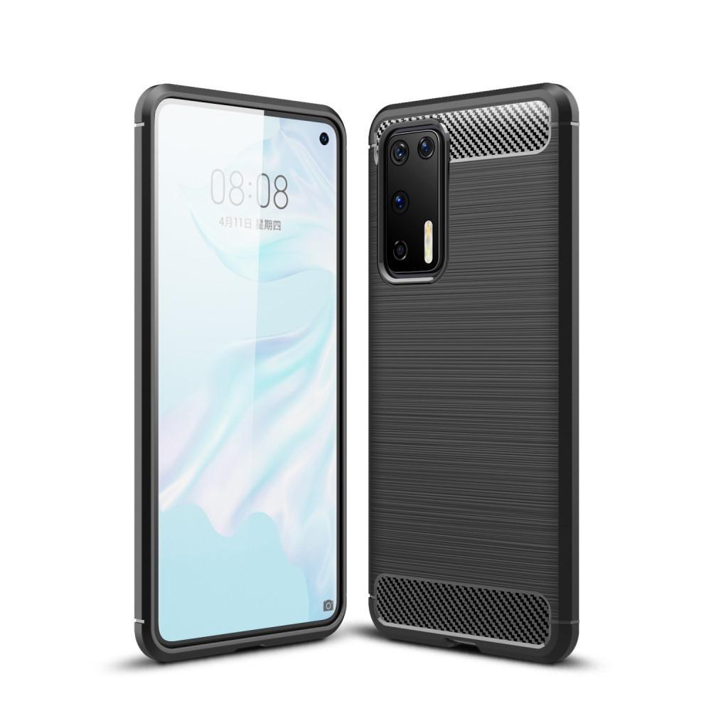 Brushed TPU Case Huawei P40 Black