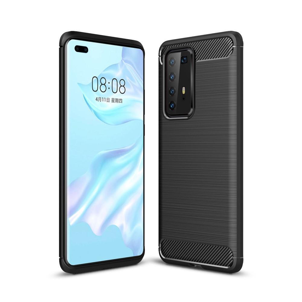 Brushed TPU Case Huawei P40 Pro Black