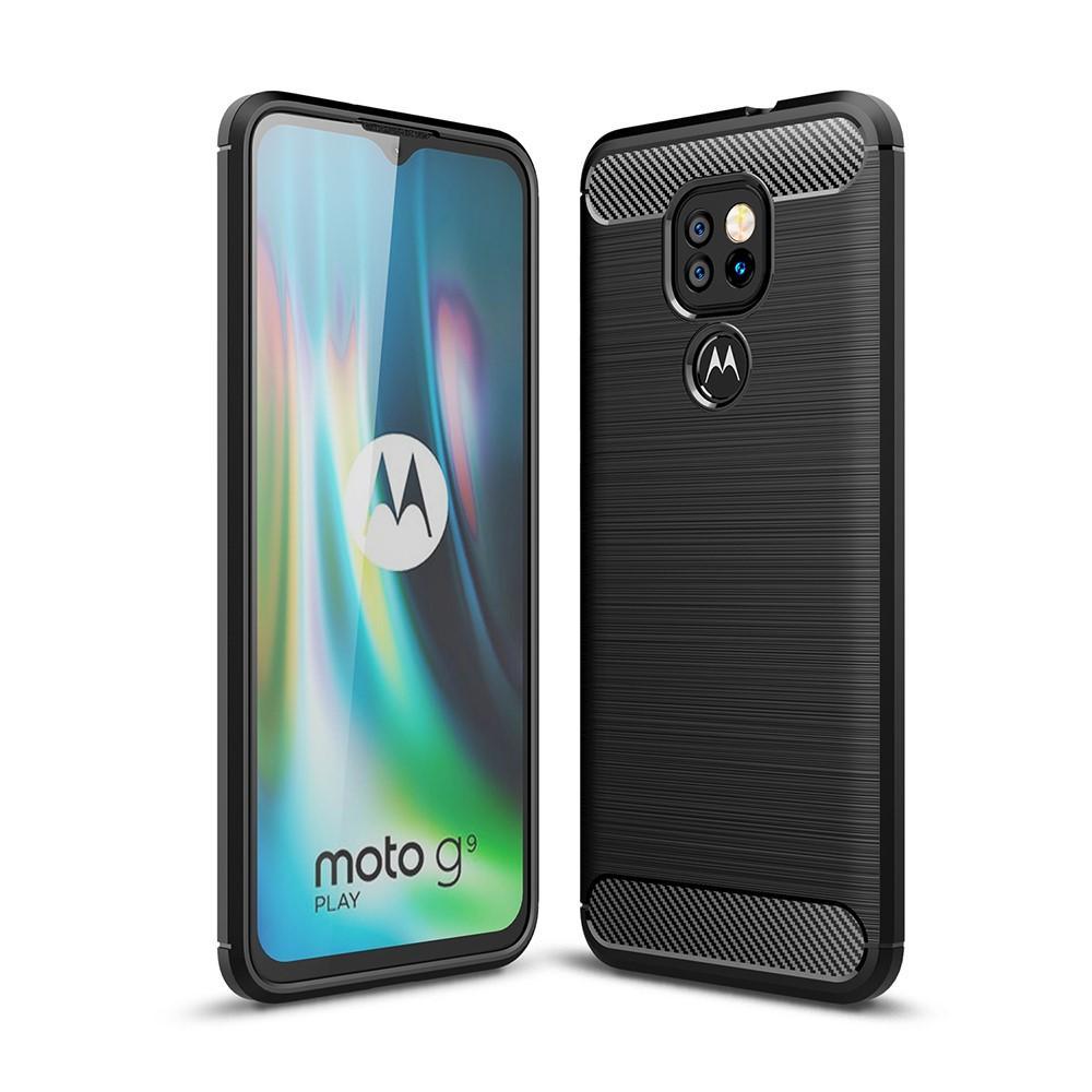 Brushed TPU Case Motorola Moto G9 Play Black