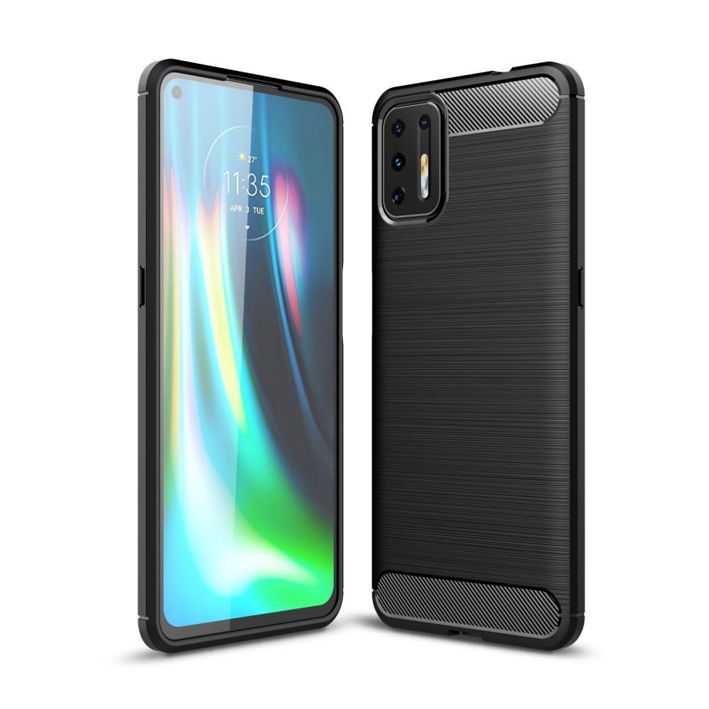 Brushed TPU Case Motorola Moto G9 Plus Black