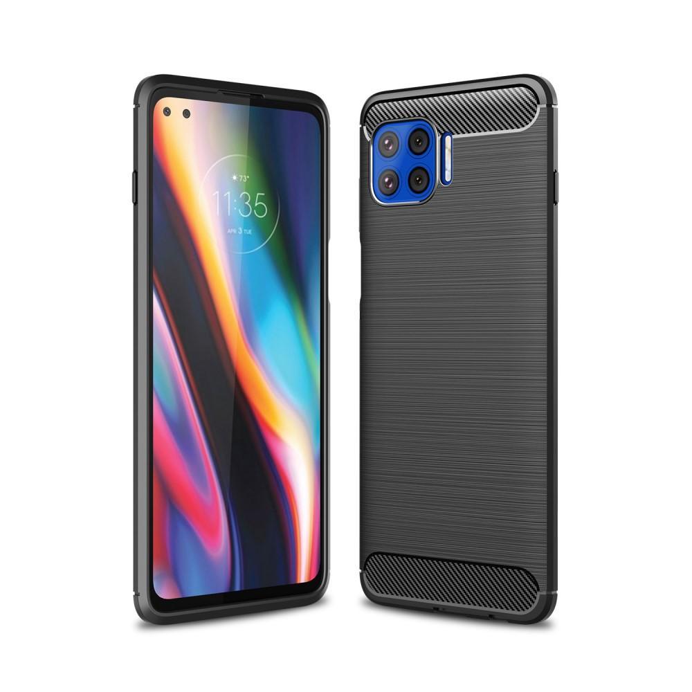 Brushed TPU Case Motorola Moto G Plus 5G Black