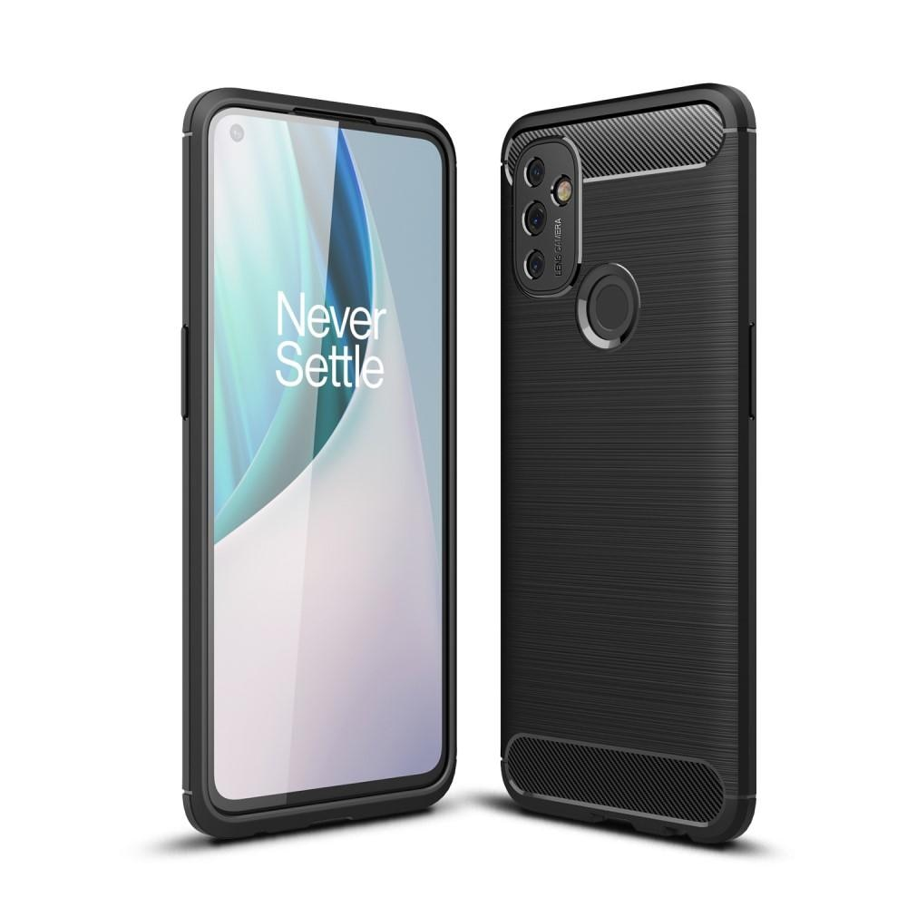 Brushed TPU Case OnePlus Nord N100 Black