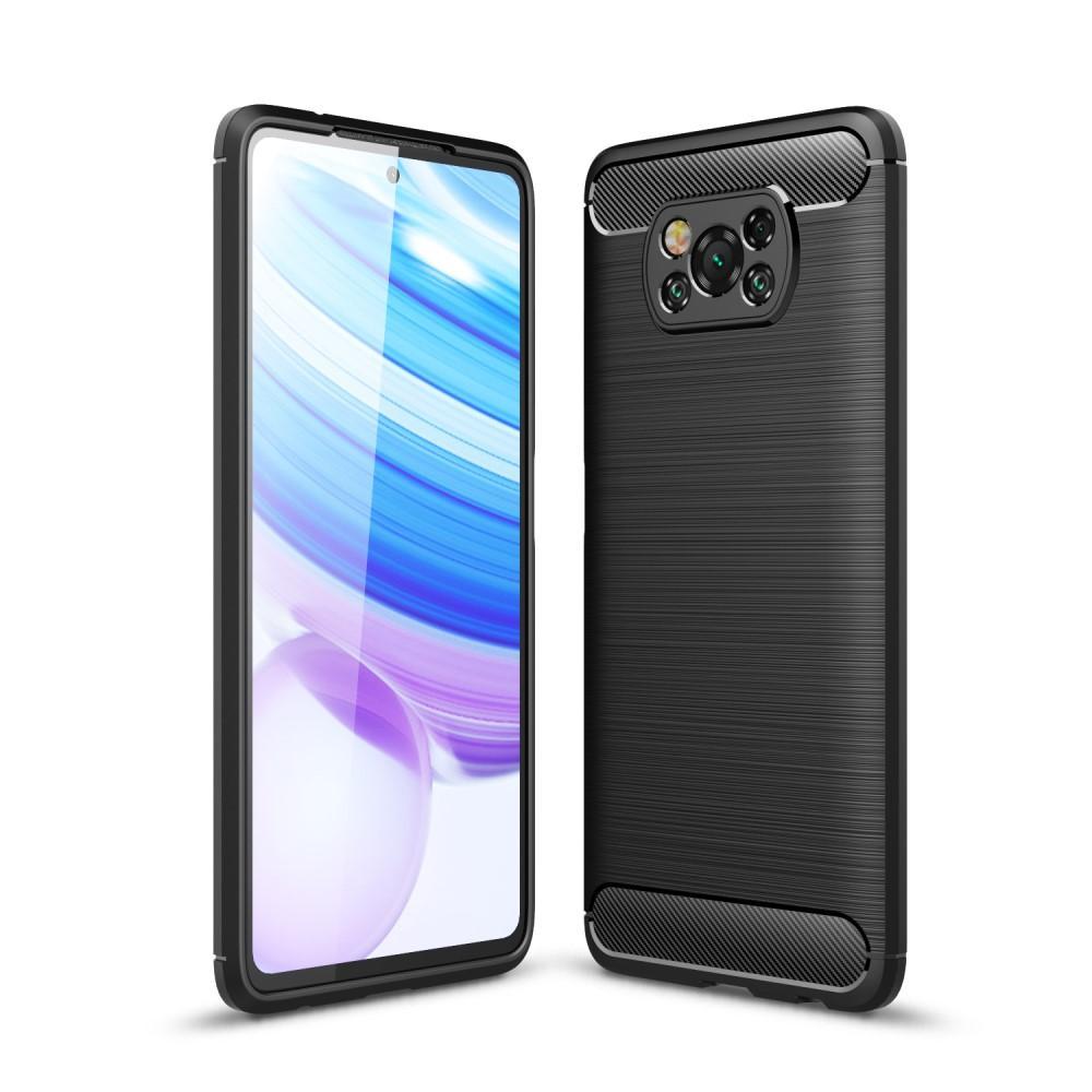 Brushed TPU Case Poco X3 NFC Black