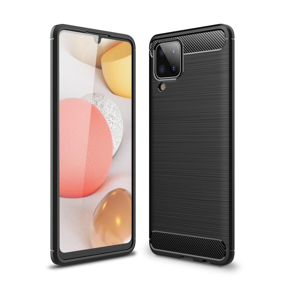 Brushed TPU Case Samsung Galaxy A12 Black