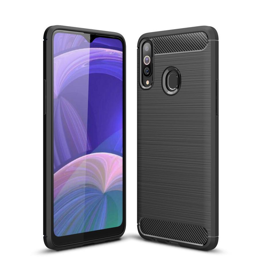 Brushed TPU Case Samsung Galaxy A20s Black