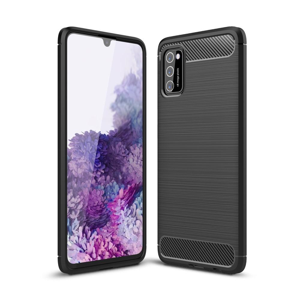 Brushed TPU Case Samsung Galaxy A41 Black
