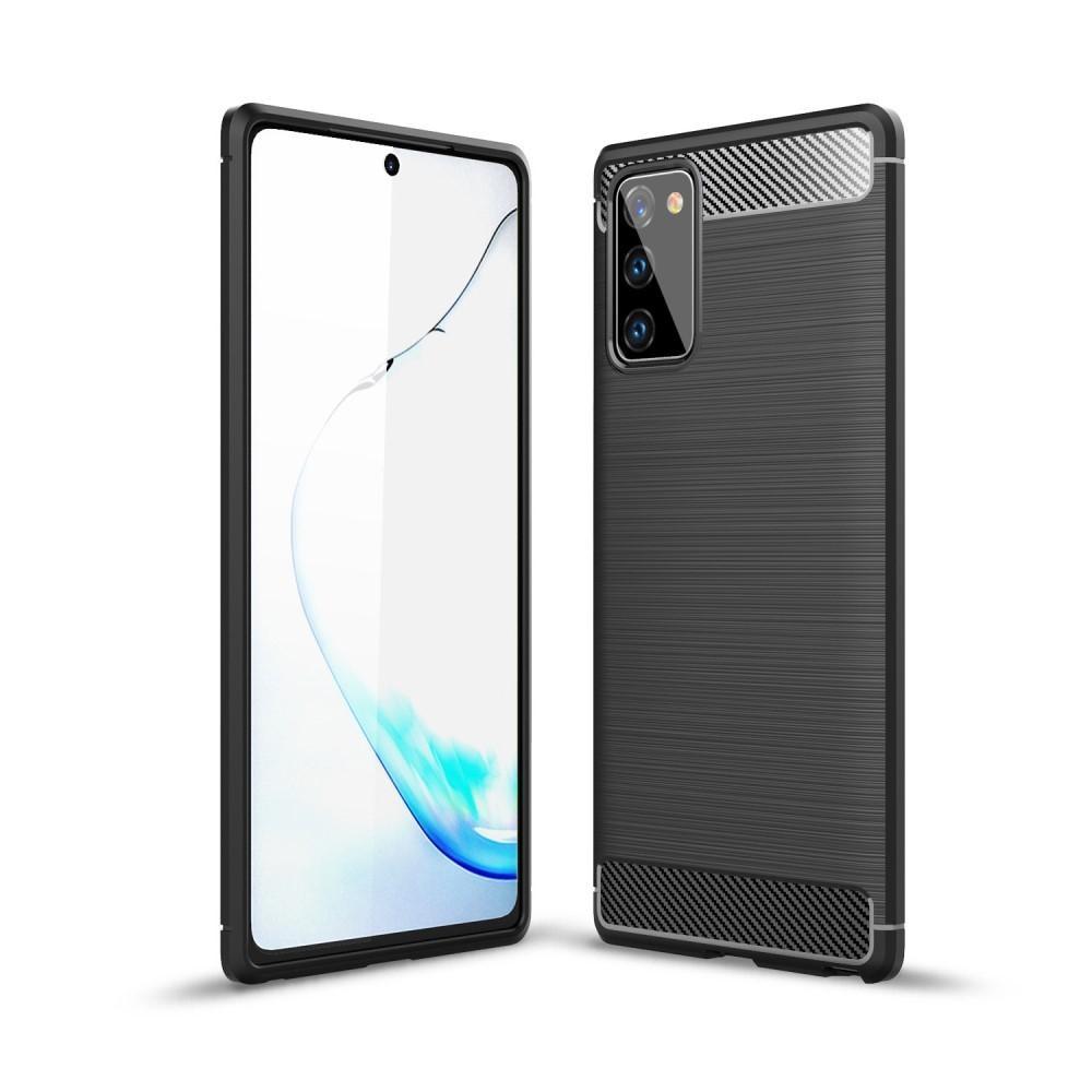 Brushed TPU Case Samsung Galaxy Note 20 Black