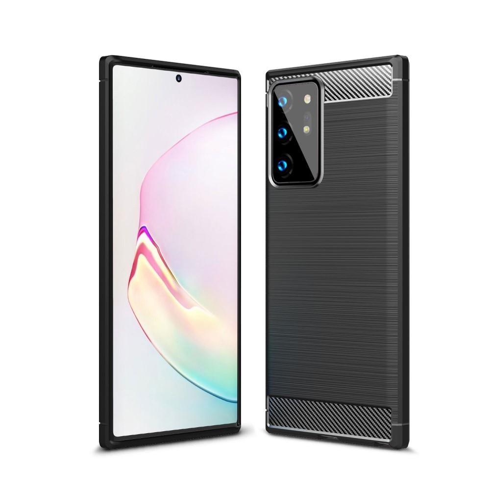 Brushed TPU Case Samsung Galaxy Note 20 Ultra Black