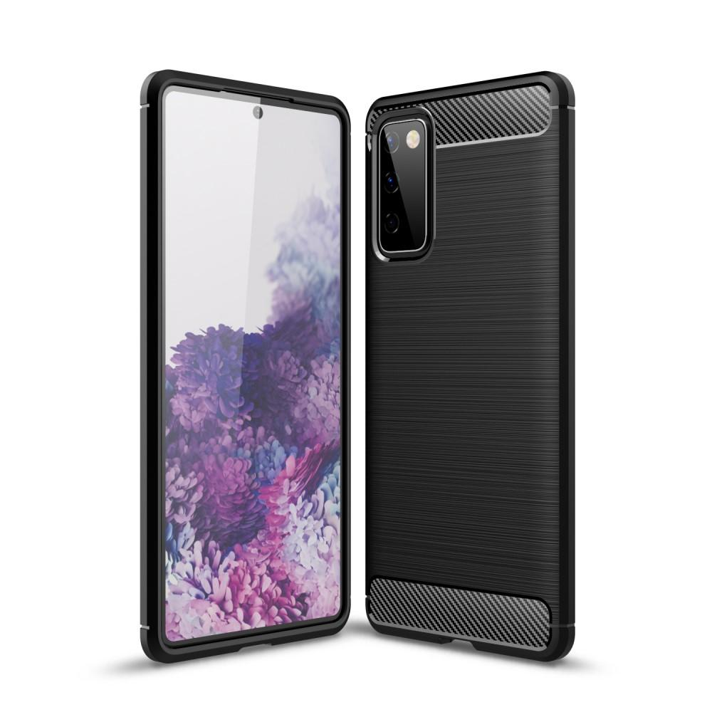 Brushed TPU Case Samsung Galaxy S20 FE Black