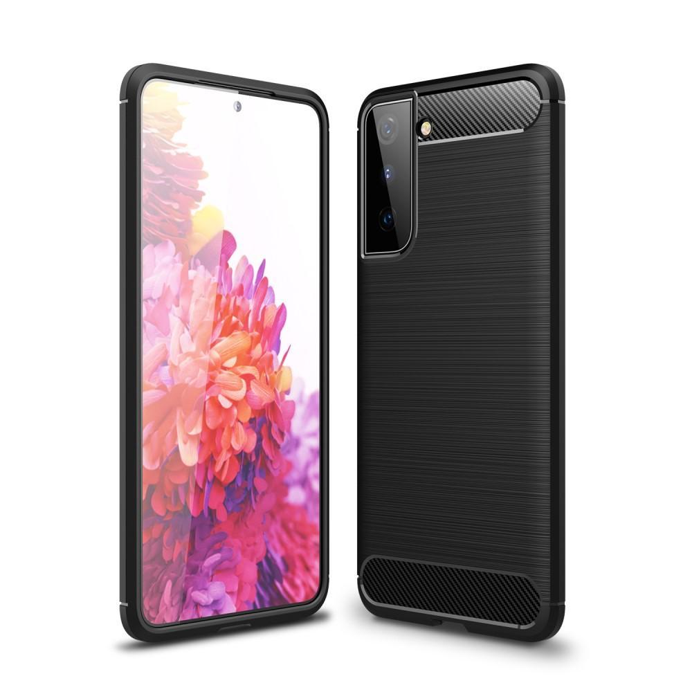 Brushed TPU Case Samsung Galaxy S21 Plus Black