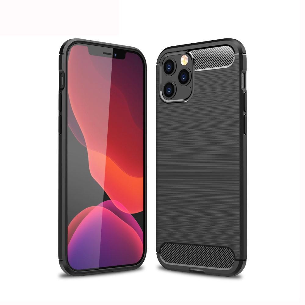 Brushed TPU Case iPhone 12 Pro Max Black