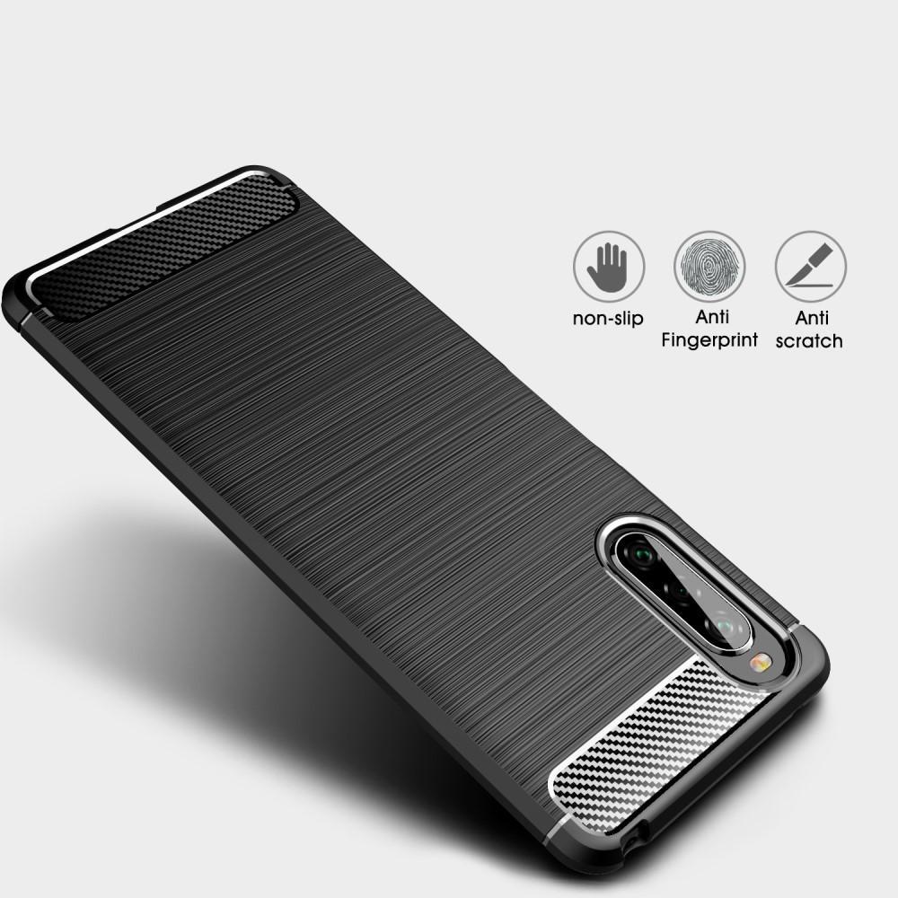 Brushed TPU Case Sony Xperia 10 II Black