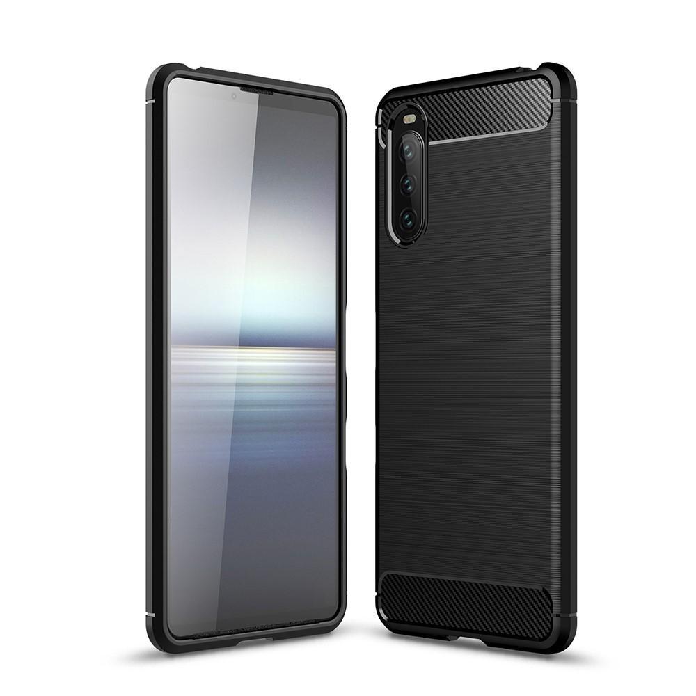 Brushed TPU Case Sony Xperia 10 III Black