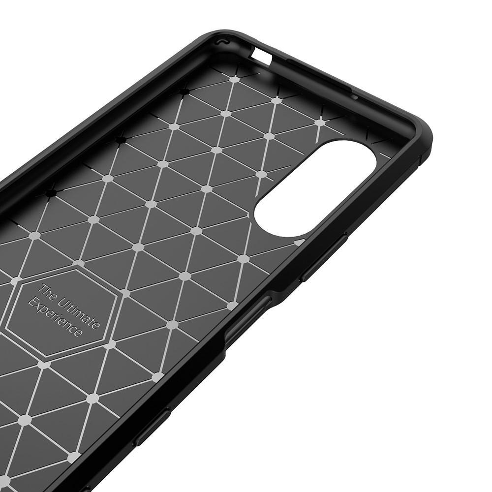 Brushed TPU Case Sony Xperia 5 II Black