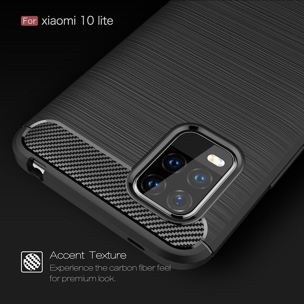 Brushed TPU Case Xiaomi Mi 10 Lite Black