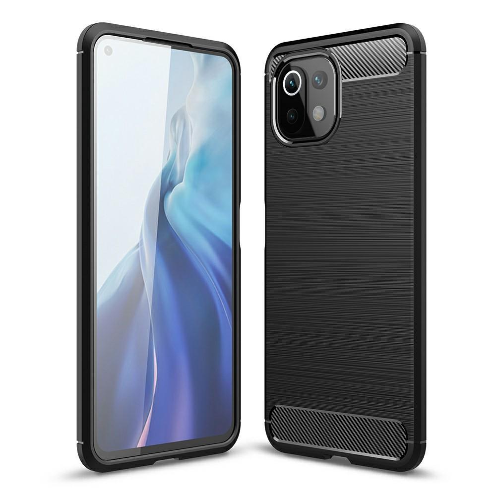 Brushed TPU Case Xiaomi Mi 11 Lite 5G Black