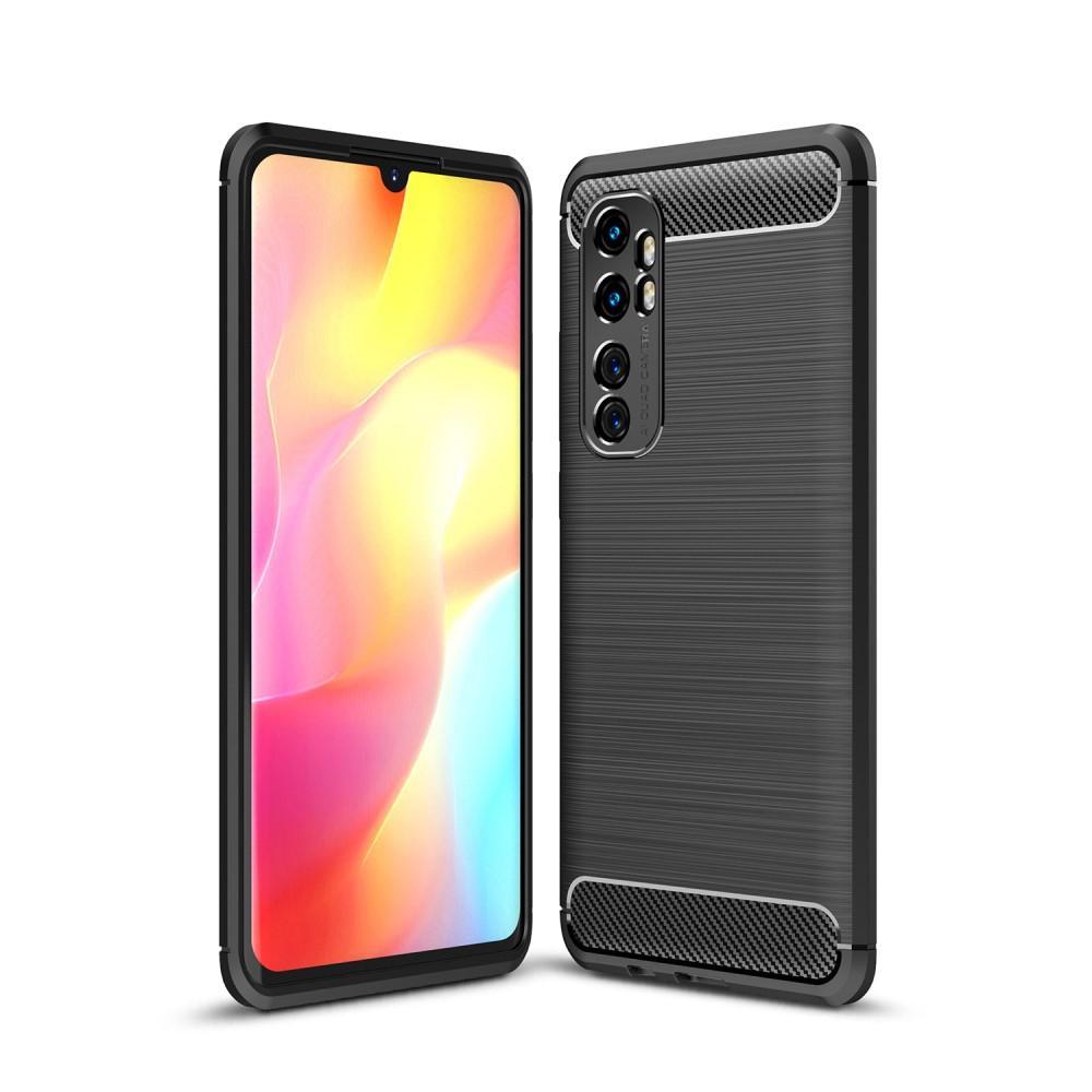 Brushed TPU Case Xiaomi Mi Note 10 Lite Black