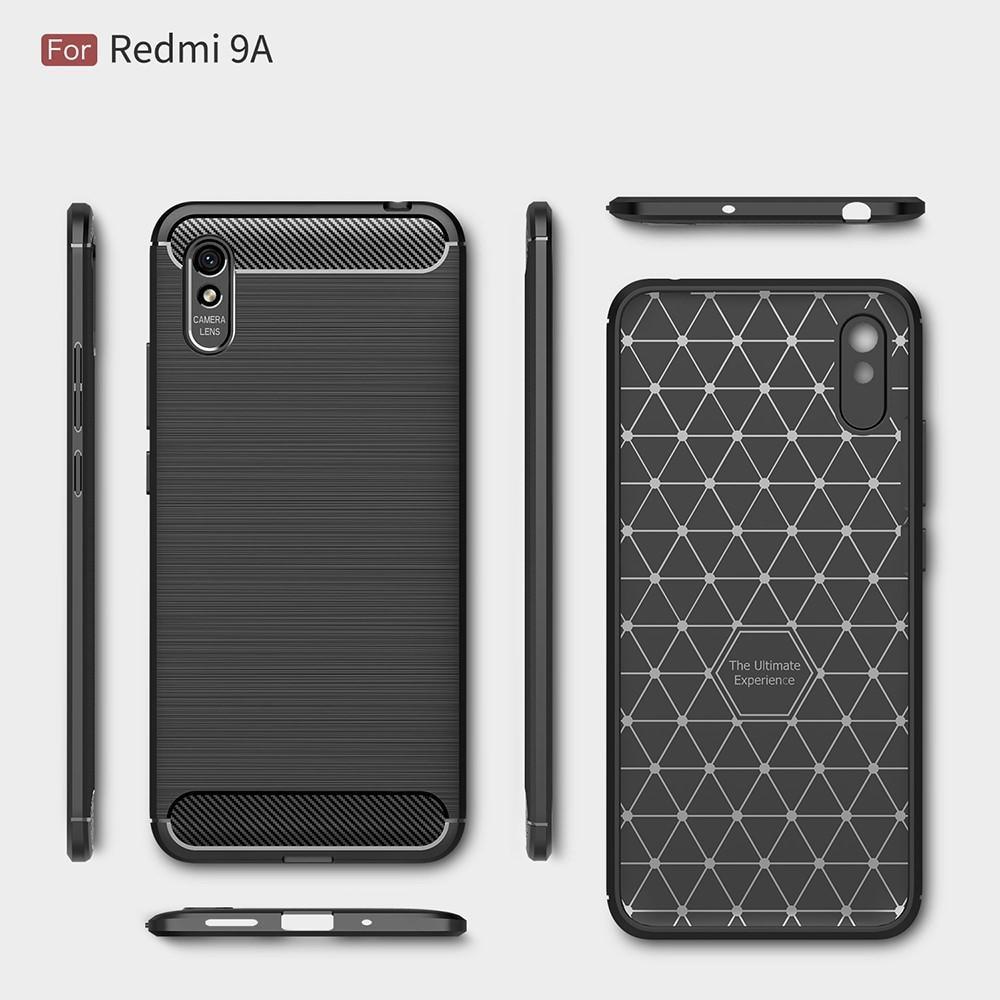 Brushed TPU Case Xiaomi Redmi 9A Black