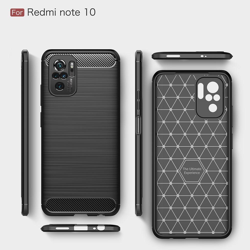 Brushed TPU Case Redmi Note 10/Note 10S Black