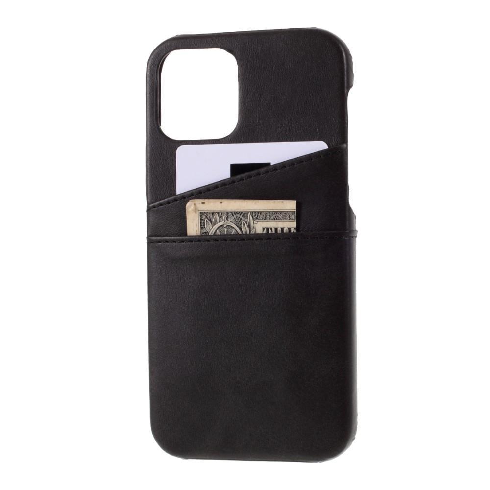 Card Slots Case iPhone 12 Pro Max svart