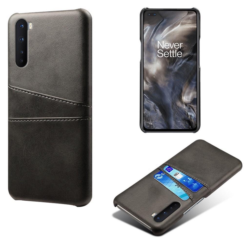 Card Slots Case OnePlus Nord svart