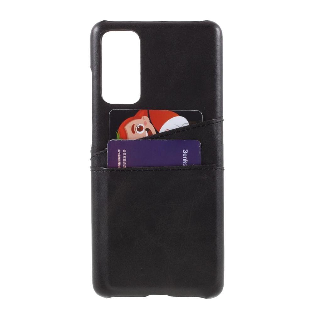 Card Slots Case Samsung Galaxy S20 FE svart
