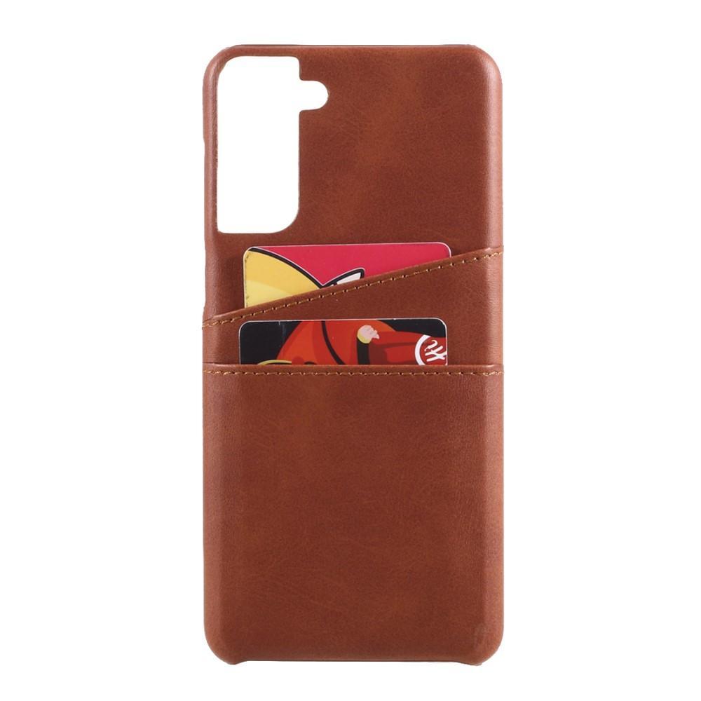 Card Slots Case Samsung Galaxy S21 brun