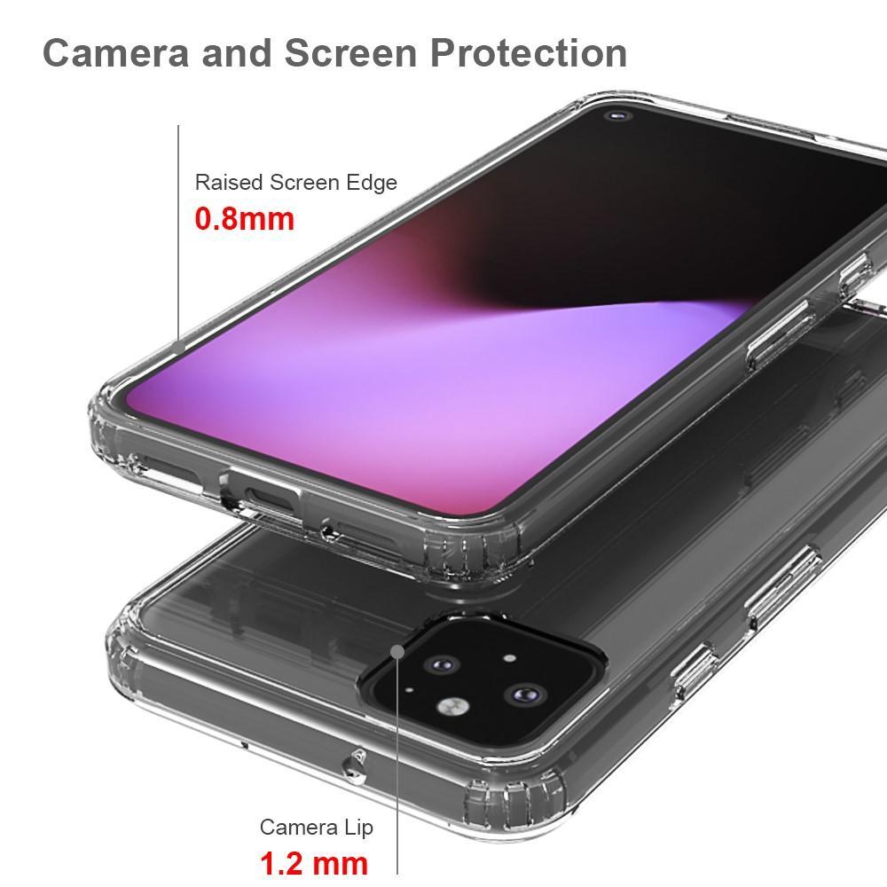 Crystal Hybrid Case Google Pixel 5 Transparent