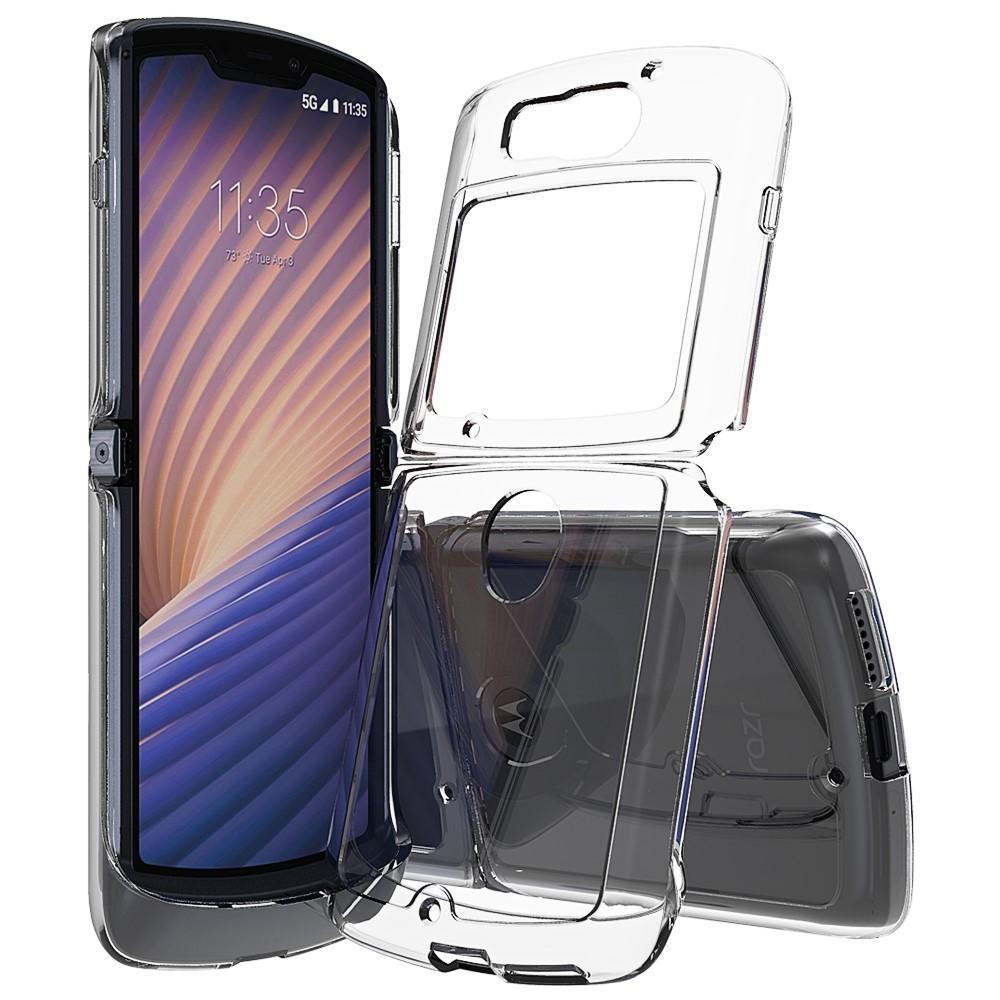 Crystal Hybrid Case Motorola Razr 5G Transparent