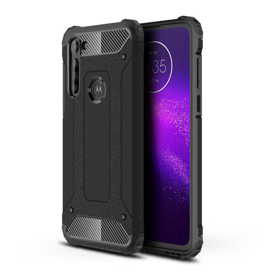 Hybridskal Tough Motorola Moto G8 Power svart
