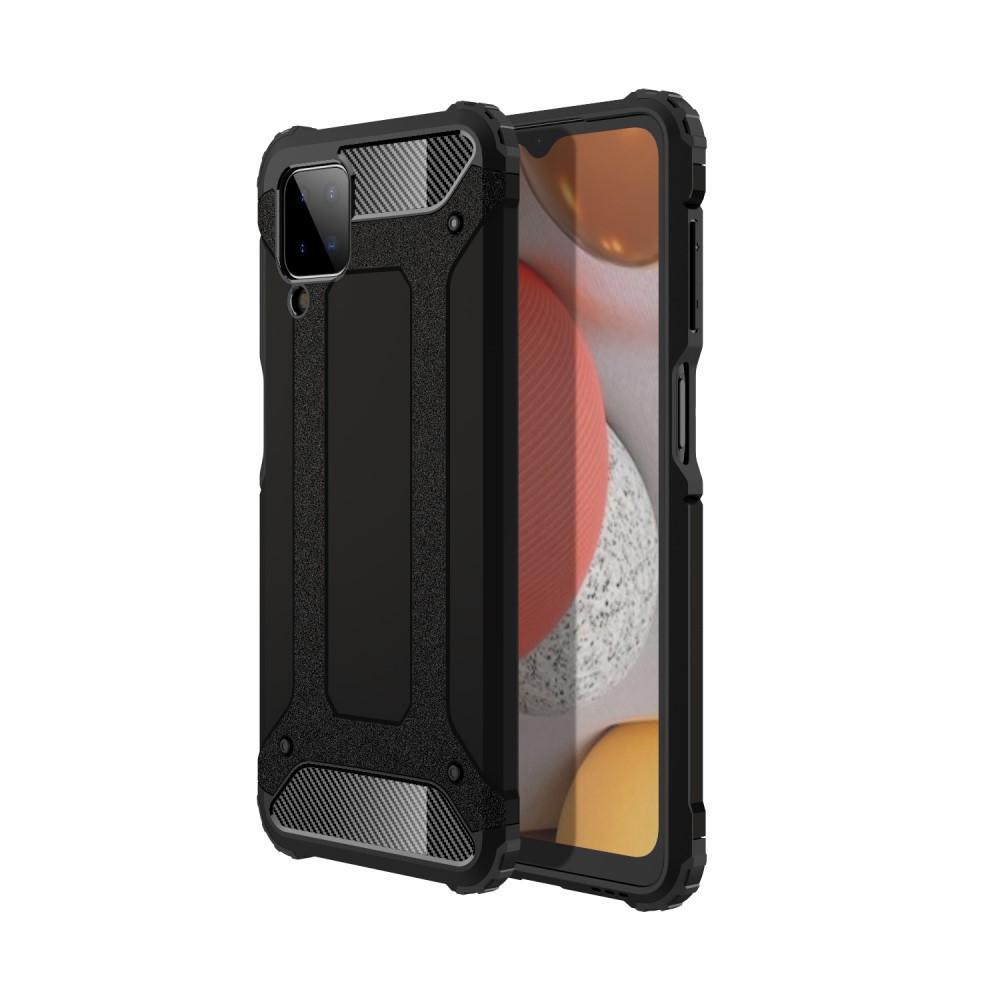 Hybridskal Tough Samsung Galaxy A12 svart
