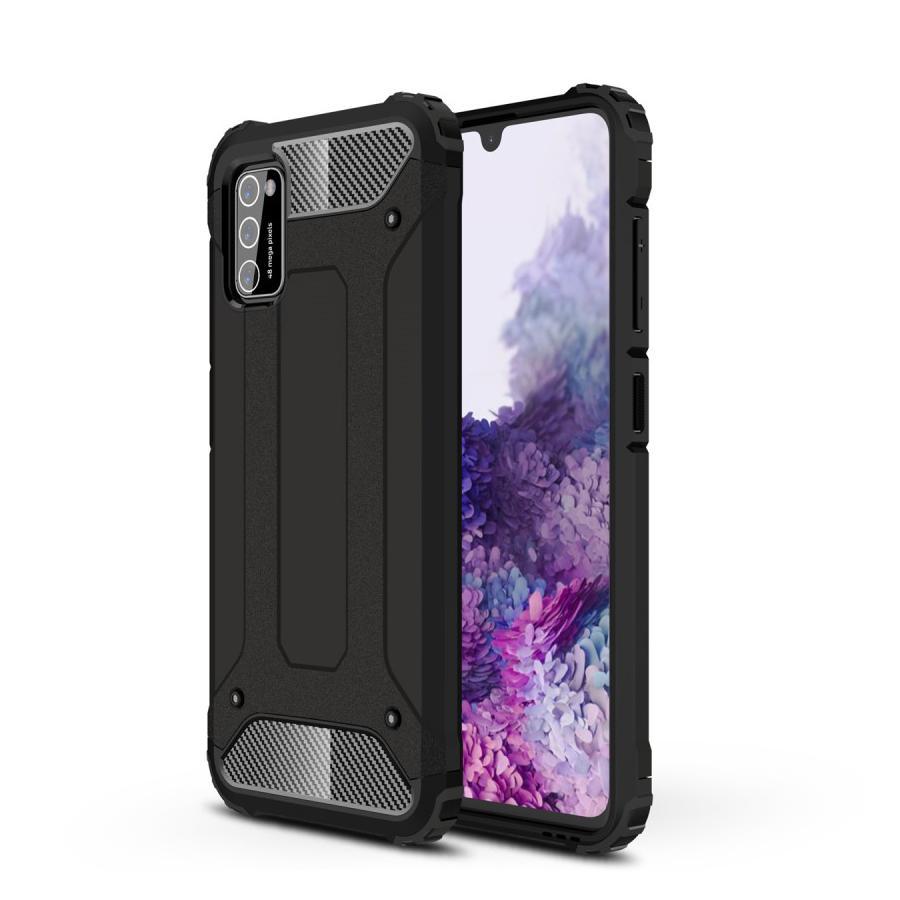 Hybridskal Tough Samsung Galaxy A41 svart