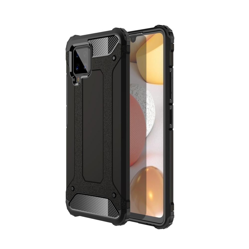 Hybridskal Tough Samsung Galaxy A42 5G svart