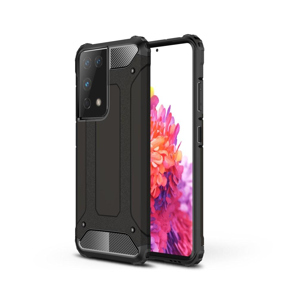 Hybridskal Tough Samsung Galaxy S21 Ultra svart
