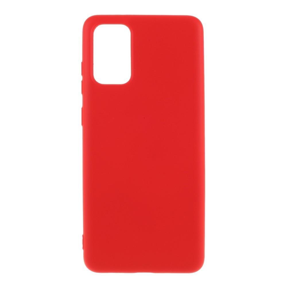 Liquid Silicone Case Galaxy S20 Plus Red