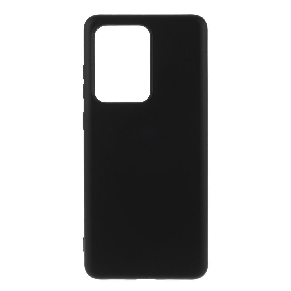 Liquid Silicone Case Galaxy S20 Ultra Black