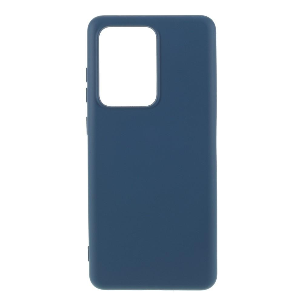 Liquid Silicone Case Galaxy S20 Ultra Blue