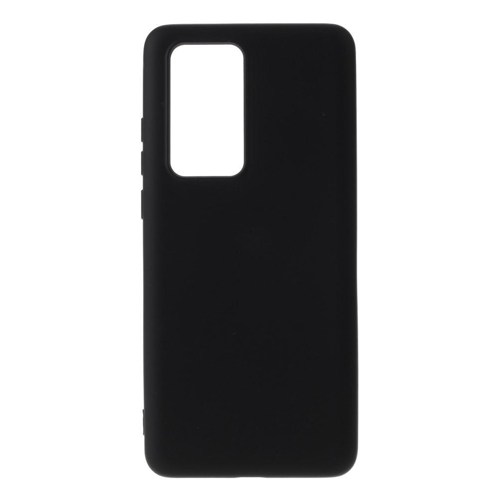 Liquid Silicone Case Huawei P40 Pro Black