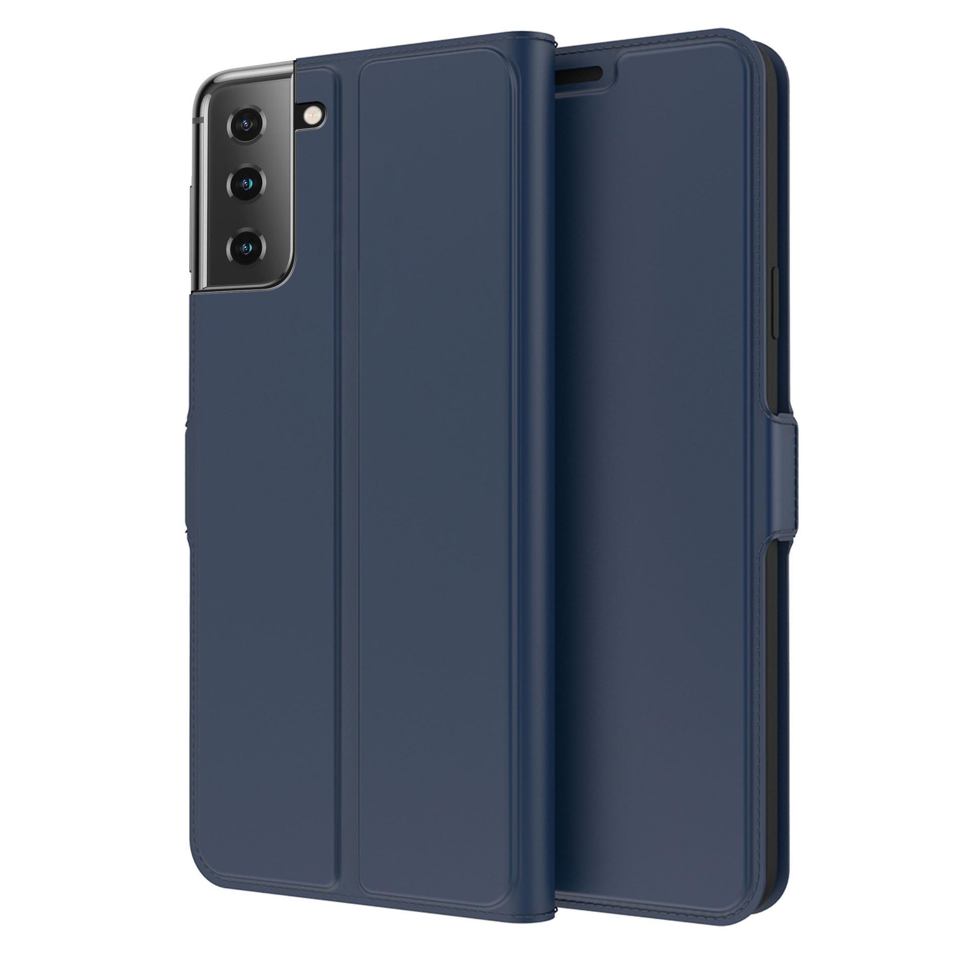 Slim Card Wallet Galaxy S21 marinblå