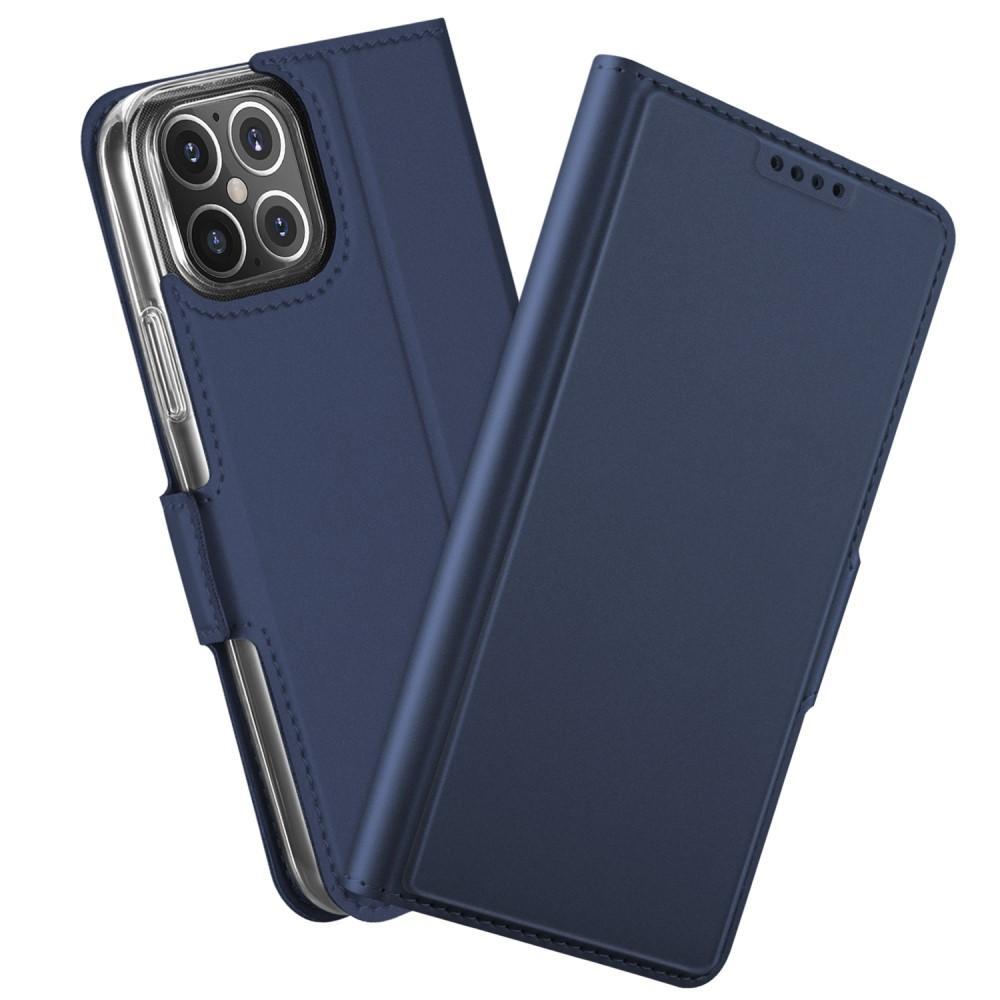 Slim Card Wallet iPhone 12 Mini marinblå