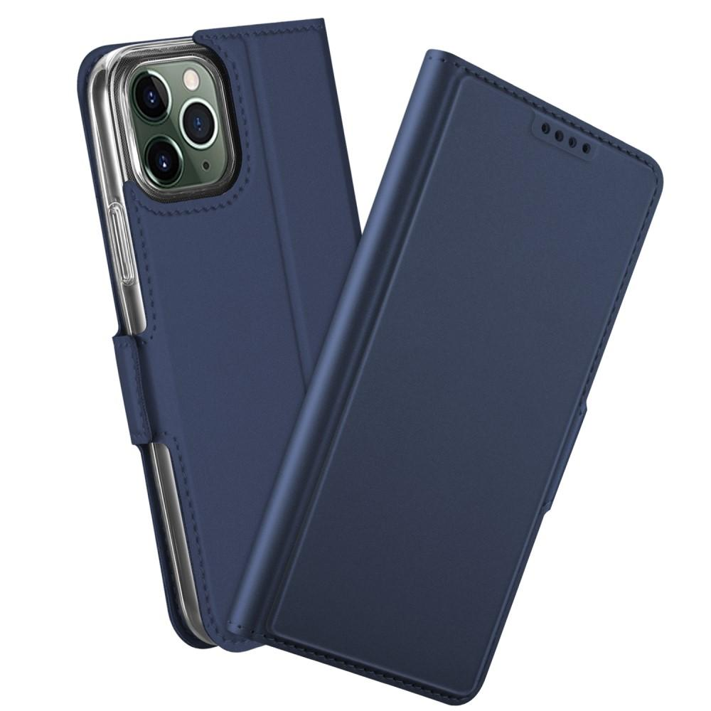 Slim Card Wallet iPhone 12/12 Pro marinblå