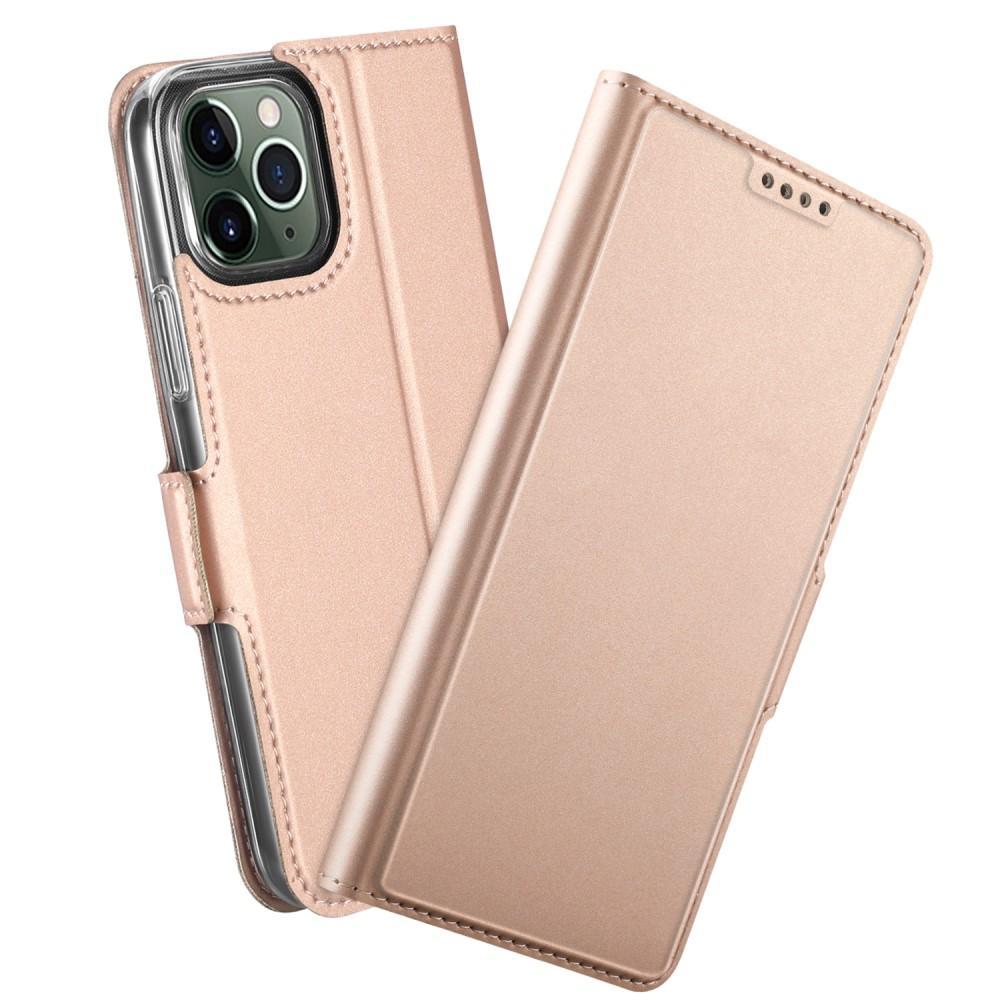 Slim Card Wallet iPhone 12/12 Pro roséguld