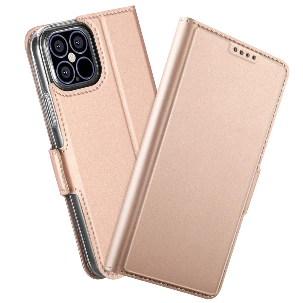 Slim Card Wallet iPhone 12 Pro Max roséguld