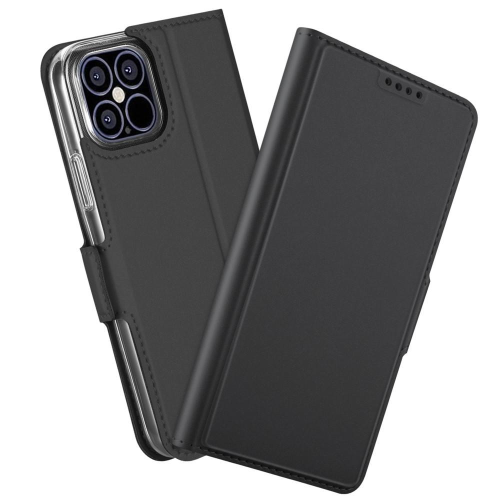 Slim Card Wallet iPhone 12 Pro Max svart